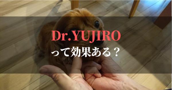 『Dr.YUJIRO』は口コミやブログの評判どおりなのか使ってみました